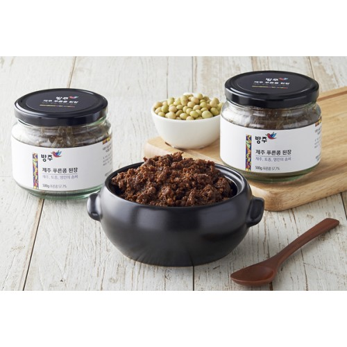 [BANGJOO JEJU] GREEN SOYBEAN PASTE (500g)