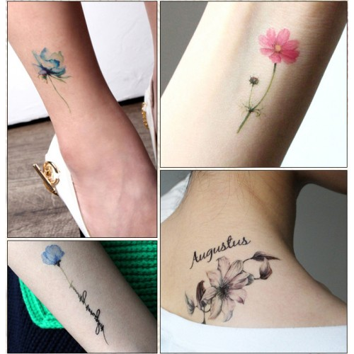 [Passet] Watercolor Painting Tattoo