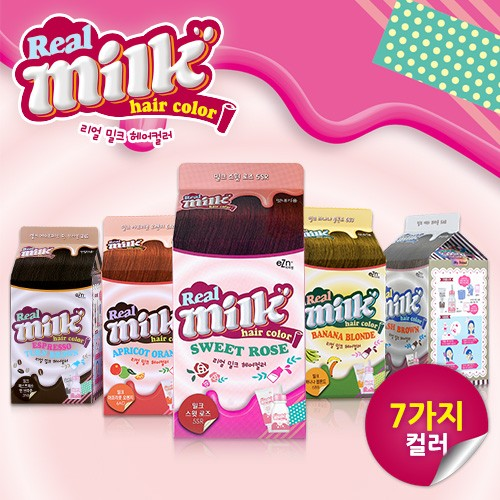 [EZN] Real Milk Hair Color(120g)