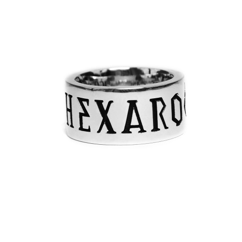 [HEXARO] LETTER SPACE RING