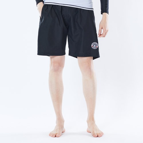 [GREENDAY] Tracy Men's Swim Wear Beach Pants Black