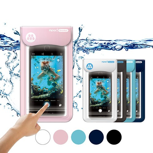 [Mpacplus] Underwater Screen Touch Waterproof Case for Smartphone Mpac snorkel S20