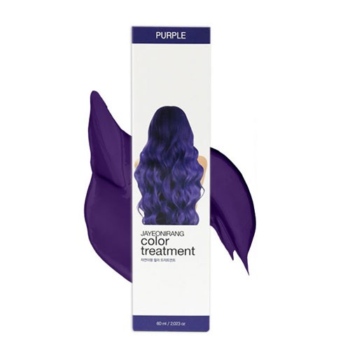 [JAYEONIRANG] color treatment (purple 60ml)