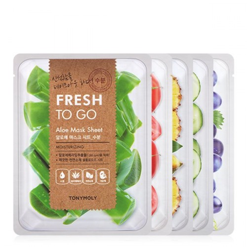 [TONYMOLY] Fresh To Go Mask Sheet (5 sheets)