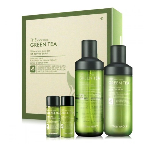 [TONYMOLY] The Chok Chok Green Tea Watery Skin care Set