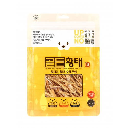 [Humming Pet] Golden Pollack Pet Snack-Strip type (70g)