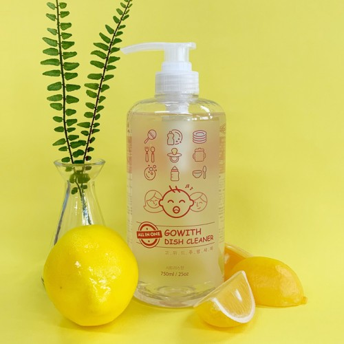 [GOWITH] ALL IN ONE Nature Dish Cleaner (750ml)