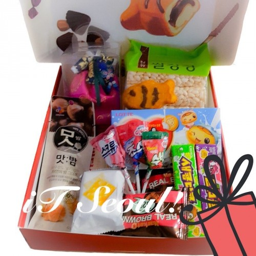[iTSEOUL] Hanbok Souvenir & Snacks - GIFT PACKAGE