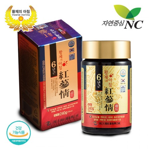 [Imperial Morning] 6-years Red ginseng extract Gold 240 g 1bottle & a piece of shopping bag