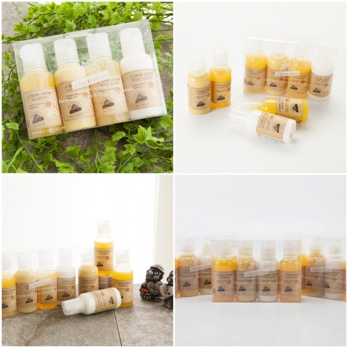 [J' farm Citrus] Jeju Tangerine Hair N Body Miniature Set (50ml*4ea)
