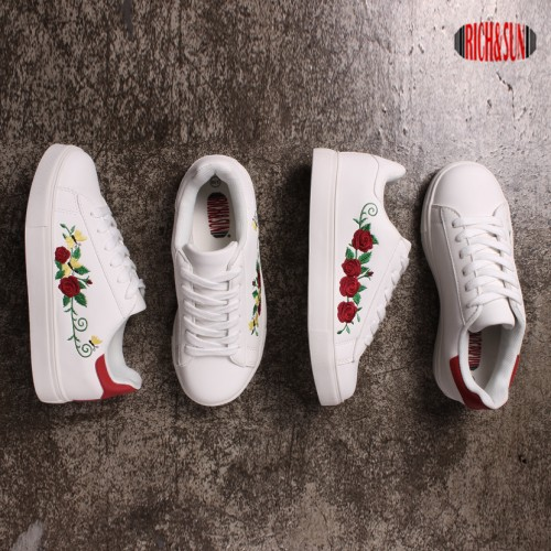 [RICH&SUN] FLOWER SNEAKERS RS702