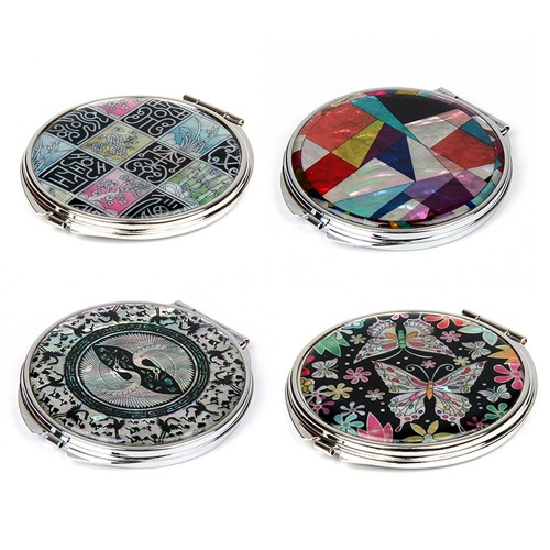 [SOV]Korean traditional mother-of-pearl hand mirror
