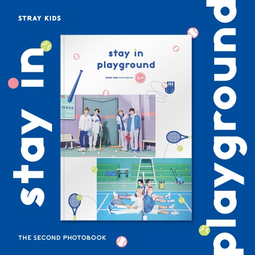 pre-order [Photobook] [Stray Kids] - STRAY KIDS 2nd PHOTOBOOK [stay in playground]