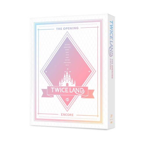 [TWICE] TWICE 1ST TOUR TWICELAND THE OPENING ENCORE DVD