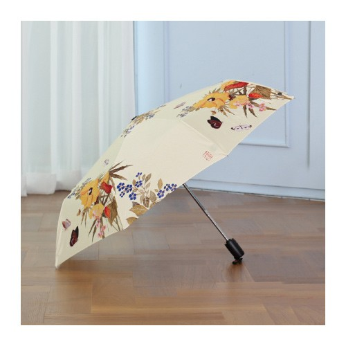 [National Museum of Korea] Yellow Flower Automatic Umbrella