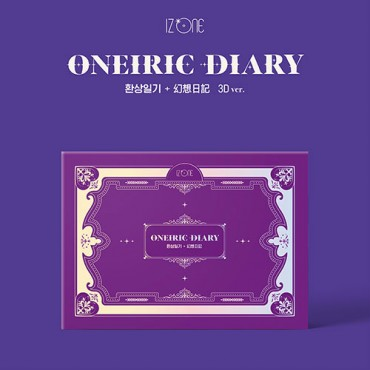 (Pre-order) [IZ*ONE] Mini Album Vol.3 [Oneiric Diary] (3D Ver.)