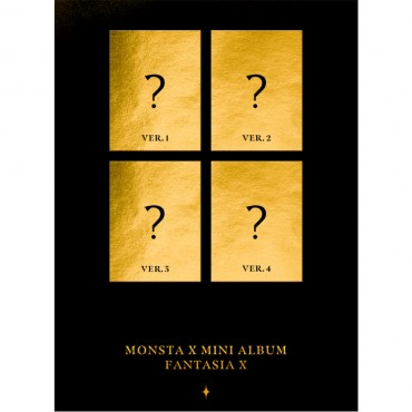 [SET][MONSTA X] - Mini Album [FANTASIA X] (Ver.1 + Ver.2 + Ver.3 + Ver.4)