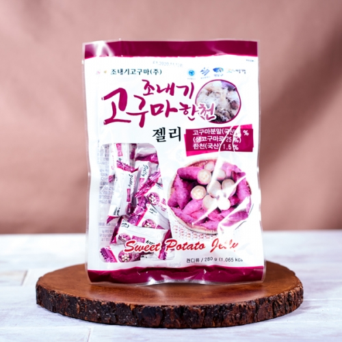 [JONAEGI] Sweet Potato Agar Jelly (280g x 10ea)