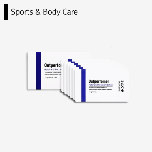 [BoLCA+] Bolca Botulife Outperformer Relief and Recovery Lotion (5g*6 for FBK)