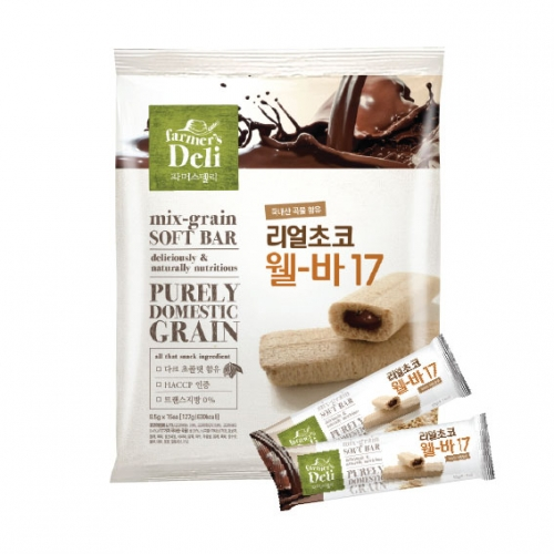 Real Choco Well Bar17 510g