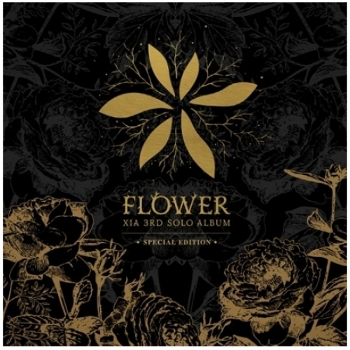 [XIA] 3집 [FLOWER] SPECIAL EDITION [CD + DVD (All Code)]