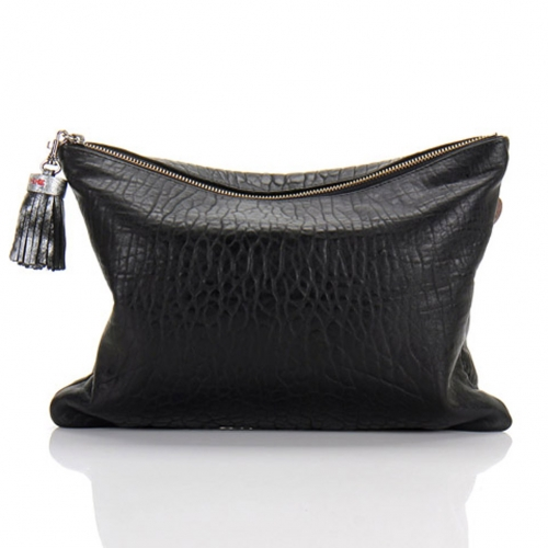 [THEHEE] POP UP CLUTCH-Black