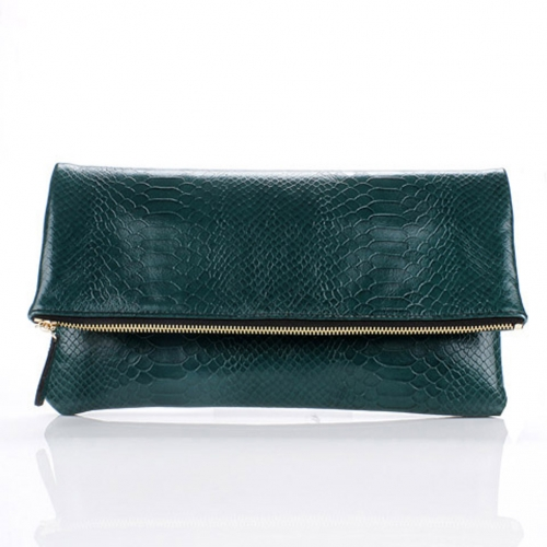 [THEHEE] Leather Clutch Bag