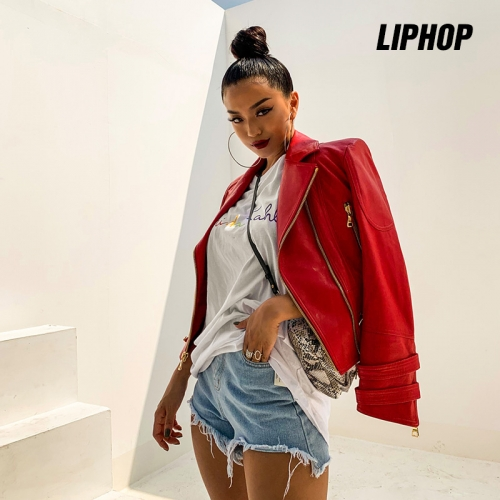 [LIPHOP] Rare Red Rider Jacket