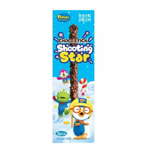 (1+1)[Pororo] Choco stick shooting star (18g*3pcs)