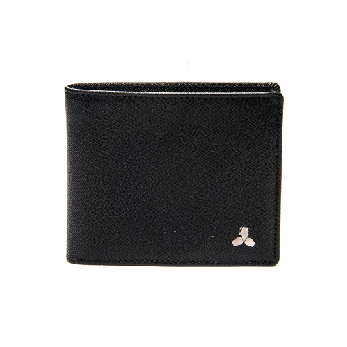 [CO_N_CREAT] Symbol Mens Wallet Brilliant Black