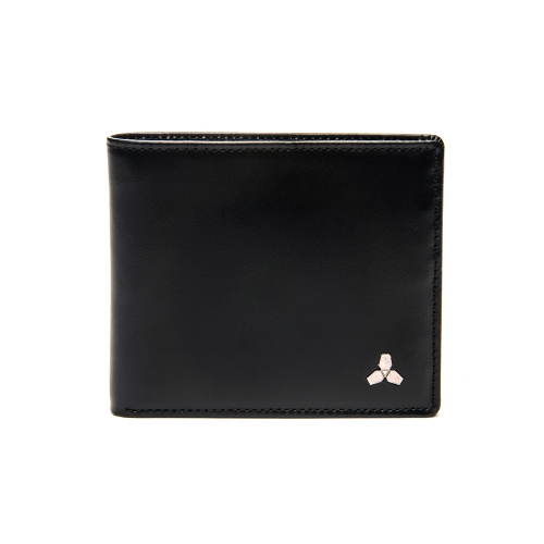 [CO_N_CREAT] Symbol Mens Wallet Black