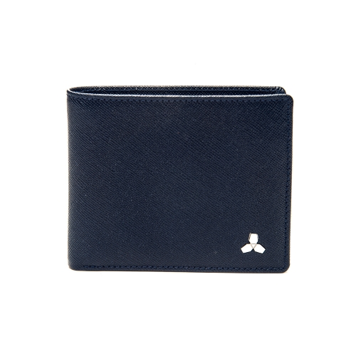 [CO_N_CREAT] Symbol Mens Wallet Deep Blue