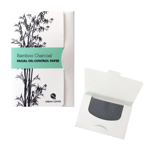 [URBAN LEAVES] CHARCOAL OIL BLOTTING PAPER (50sheets)
