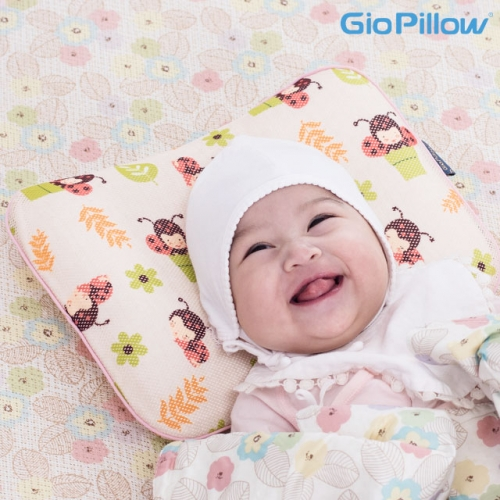 Head shaping pillow popular baby pillow [GIO Pillow] (Size : S, M)