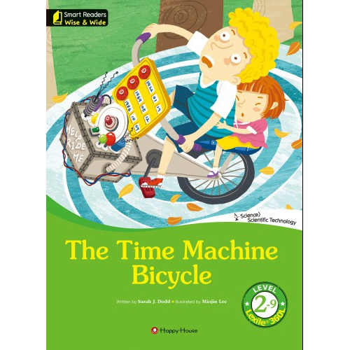 [darakwon] Smart Readers Wise & Wide 2-9 The Time Machine Bicycle