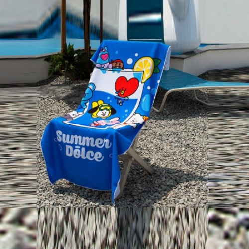 [BT21] SUMMER BEACH BATH TOWEL(250g,1ea)