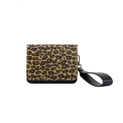 [ALICE MARTHA] Pooky_Leopard Women's Hand Bag (1 colors)