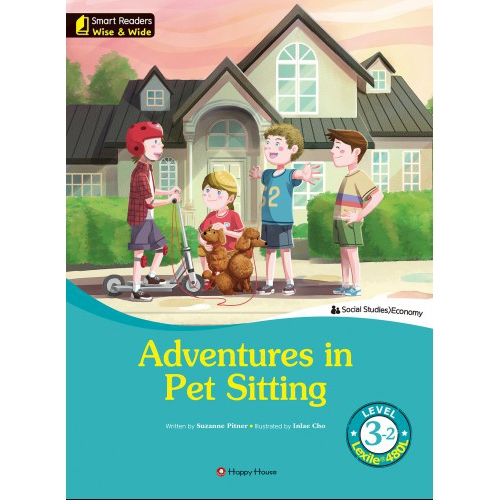 [darakwon] Smart Readers Wise & Wide 3-2 Adventures in Pet Sitting