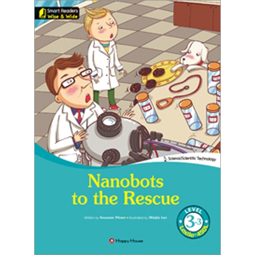 [darakwon] Smart Readers Wise & Wide 3-3 Nanobots to the Rescue