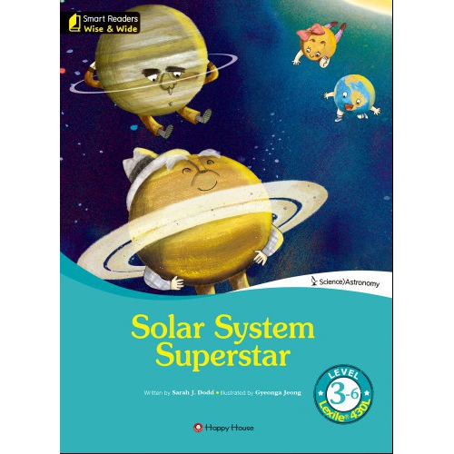 [darakwon] Smart Readers Wise & Wide 3-6 Solar System Superstar