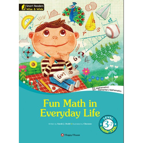 [darakwon] Smart Readers Wise & Wide 3-7 Fun Math in Everyday Life