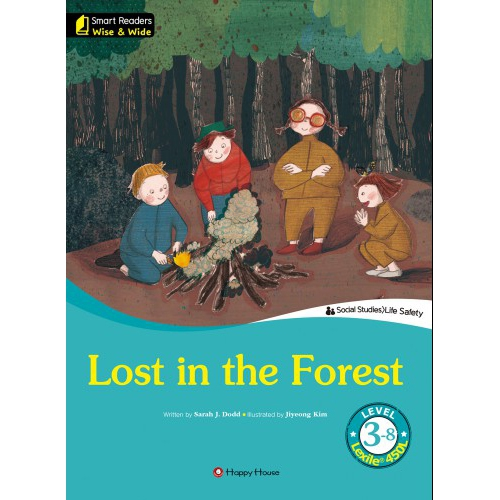 [darakwon] Smart Readers Wise & Wide 3-8 Lost in the Forest