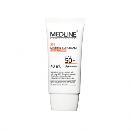 [MED-LINE] 365 Mineral Suncream (40ml)