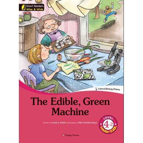 [darakwon] Smart Readers Wise & Wide 4-2 The Edible, Green Machine