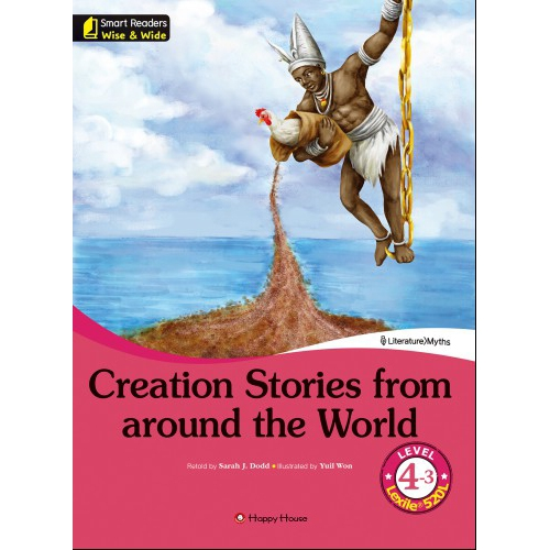 [darakwon] Smart Readers Wise & Wide 4-3 Creation Stories from around the World