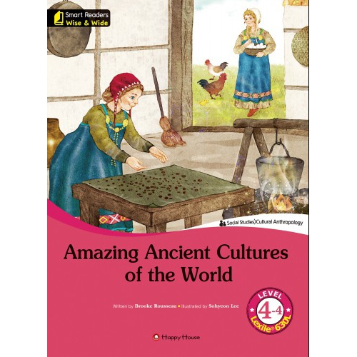 [darakwon] Smart Readers Wise & Wide 4-4 Amazing Ancient Cultures of the World