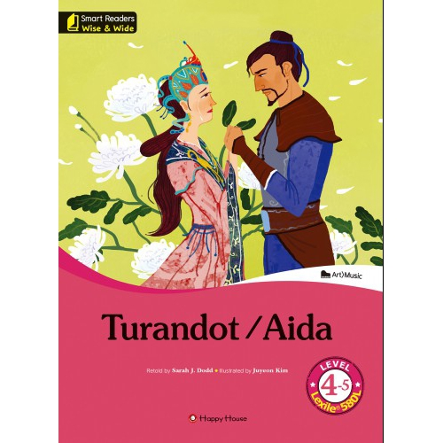 [darakwon] Smart Readers Wise & Wide 4-5 Turandot / Aida