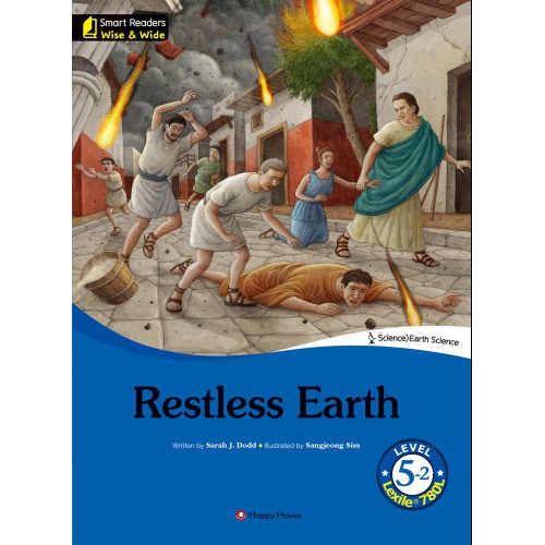 [darakwon] Smart Readers Wise & Wide 5-2 Restless Earth