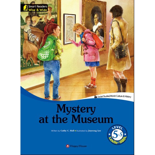 [darakwon] Smart Readers Wise & Wide 5-5 Mystery at the Museum