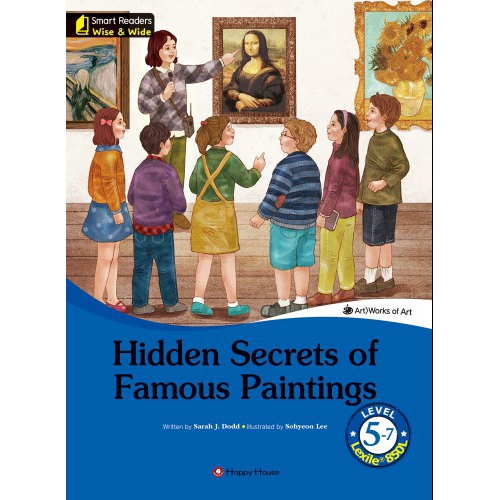 [darakwon] Smart Readers Wise & Wide 5-7 Hidden Secrets of Famous Paintings